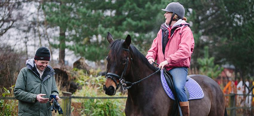 Horse riding rhyl